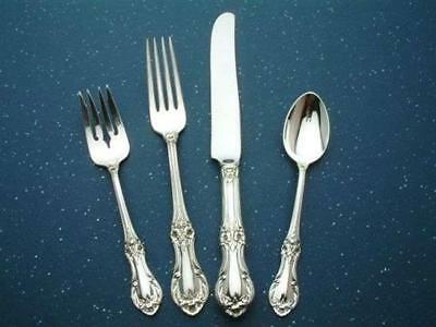 Wild Rose by International Sterling Silver 4 pc. Place Setting, DINNER French