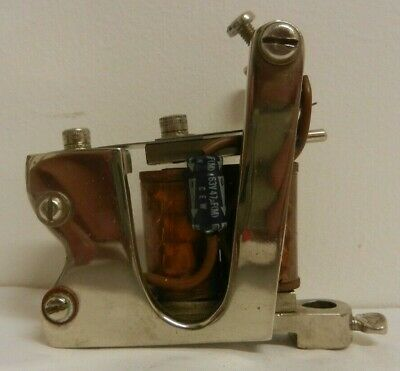 rare vintage tattoo machine BILLY BROWN scotland