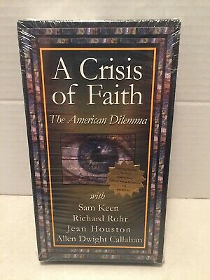 VHS Tape A Crisis Of Faith With Richard Rohr NEW
