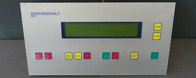 Bedienfeld Display Unit Control Panel LCD CPU Controller Stromaggregat Generator