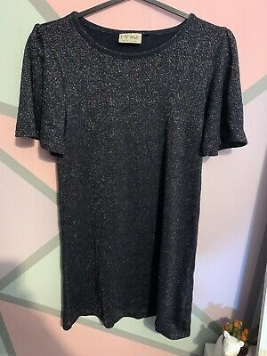 Girls Next Black Sparkly Dress (Age 9)