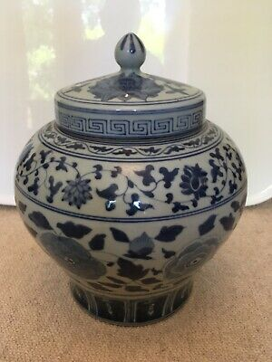 Chinese Ginger Jar. 28 cm tall.