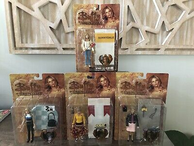 Best Of Buffy Vampire Slayer Diamond Figures Chosen, Bot, Vampire, Cheerleader