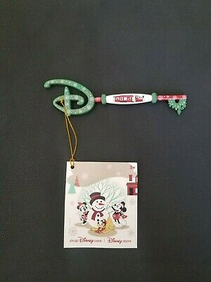 Disney Store Exclusive Christmas Key limited edition holiday 2019