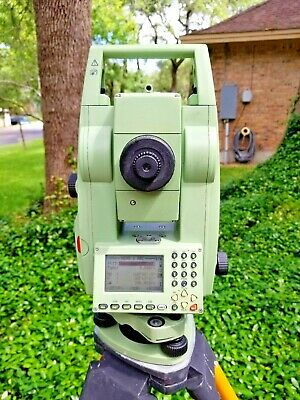 "Leica TCR703 Auto 3"" Conventional Reflectorless Survey Total Station"