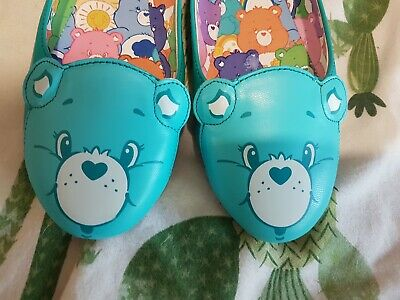 Iron Fist Wish All Bear Care Bears 6 Flats Kawaii Lolita Goth Alt Cute Retro...