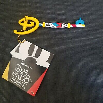 Disney Store Exclusive D23 Expo Key Mickey and Minnie Mouse
