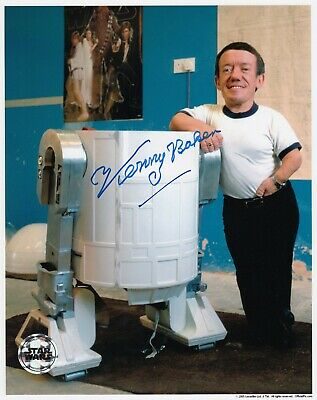 Kenny Baker Signed R2D2 Star Wars 8x10 Official Pix Autograph Photo