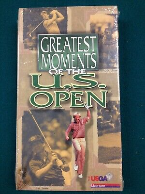 Greatest Golf Moments of the US Open VHS