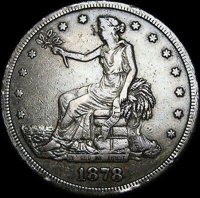 1878-S Trade Dollar ---- TYPE COIN ---- #A164