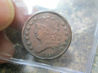 1832 US Half Cent Coin IN EXTRA FINE CONDITION