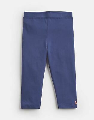 Joules Girls Orla Cropped Leggings  - BLUE Size 4yr
