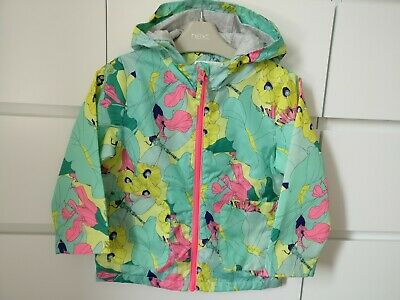 NEXT___floral raincoat jacket girl age 3-4 yrs worn once ex con