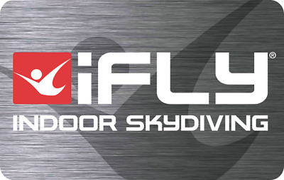 Ifly Indoor Skydiving Gift Card $75.00