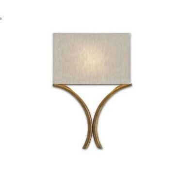 Currey and Company-5901-Cornwall - One Light Wall Sconce  French Gold Leaf