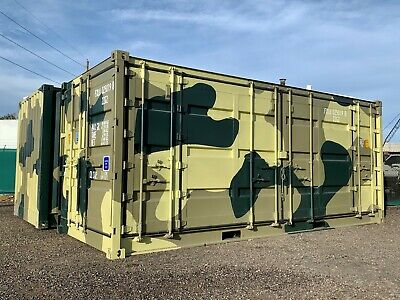 20ft New Camouflage Open Side Shipping Container