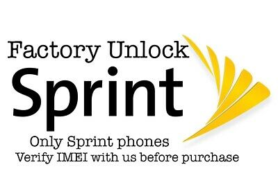 Sprint Factory Unlock Service for iPhone 11 11 PRO MAX XS MAX XS XR X 8 7 6
