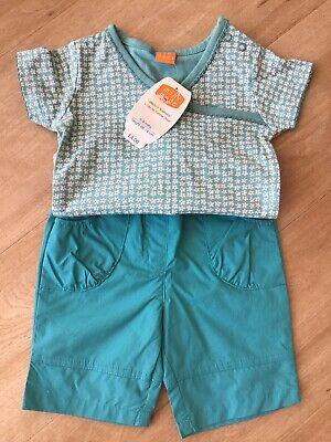 Mini Mode Top And Trousers Age 6-9 Months BNWT