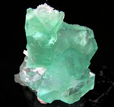 "1.5"" Green Fluorite Octohedron, Riemvasmaak, South Africa! 5R10"
