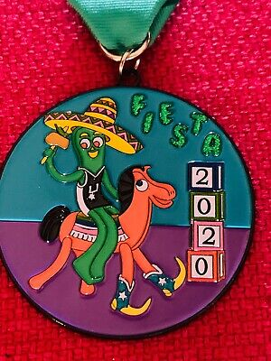 Official Gumby and Pokey Fiesta Medal 2020