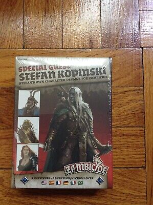 Zombicide Black Plague Special Guest Stefan Kopinski; Factory Sealed