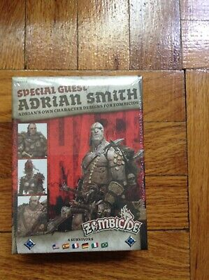 Zombicide Black Plague Special Guest Adrian Smith; Factory Sealed