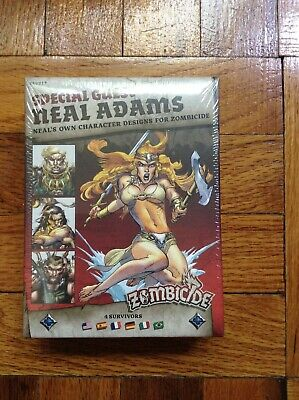 Zombicide Black Plague Special Guest Neal Adams; Factory Sealed