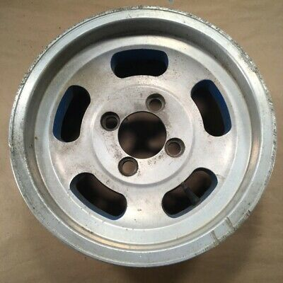 Slotted MAG 14x6 Wheels 4 Bolt for Datsun Nissan
