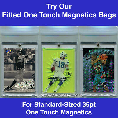 Fitted Bags Sleeves for Ultra Pro One Touch Magnetics (100 - 1pk) 35pt