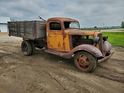 1936 Chevrolet Other Pickups  1936 Chevy Truck low cab Montana solid farm find old patina paint ratrod