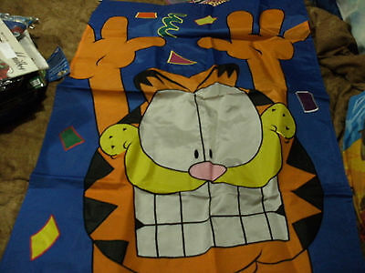 """Garfield Large Outdoor Flag 28""""x40"""""""