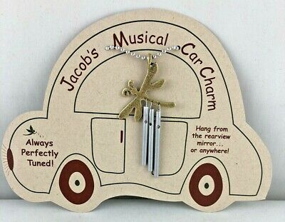 Jacob's Musical Car Charm  dragonfly chime perfectly  tuned aluminum steel  USA