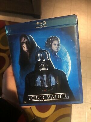 Star Wars Lord Vader on BD with case