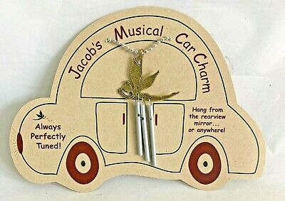 Jacob's Musical Car Charm fairy chime perfectly  tuned aluminum steel  USA
