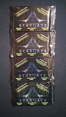 1994 Collect A Card StarGate The Movie Pack 4 Pack Lot