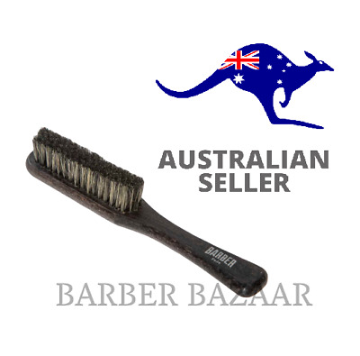 Marmara Barber Wooden Fade Brush | Small Large Ring | AUS SELLER
