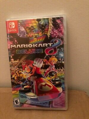 Brand New, Sealed Mario Kart 8 Deluxe game for Nintendo Switch