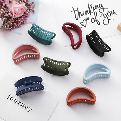 Stylish Bun Maker Accessories Women Hair Claw Hairgrip Acrylic Hollow Out