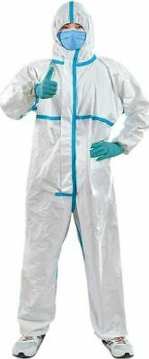 Disposable Protective Coverall Suit Medical Isolation Gowns With Hood