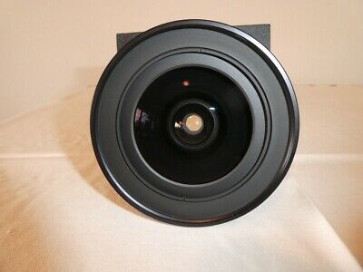 Schneider Super Angulon 5.6 / 72 XL lens Copal shutter in mint condition
