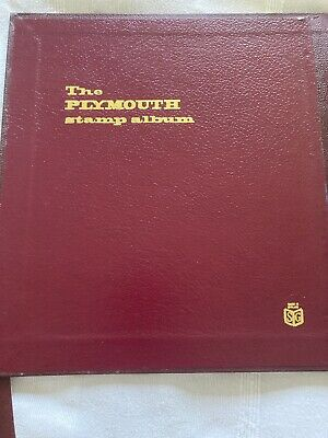 Stanley Gibbons Plymouth Luxury Peg Album & Slipcase Used