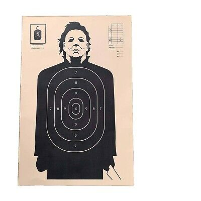 """Official HALLOWEEN """"TARGET PRACTICE"""" POSTER 34"""" x 23"""" MICHAEL MYERS Horror Movie"""