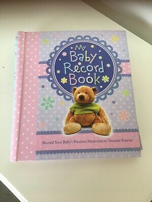my baby record book baby girl brand new