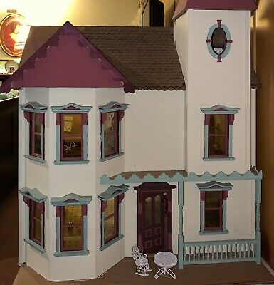 "Handmade Victorian Dollhouse  (NOT A Kit) By ""The House That Jack Built"""