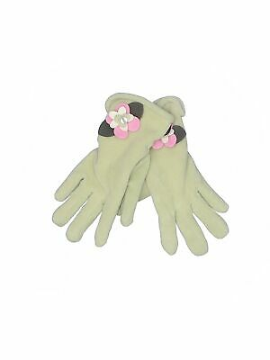 Assorted Brands Women Green Gloves One Size