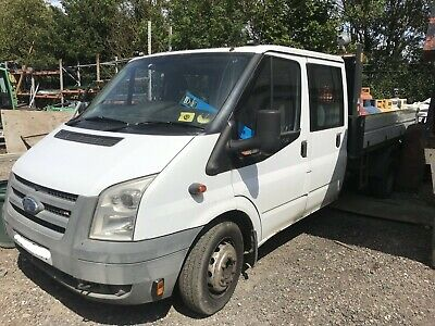 FORD TRANSIT CREW CAB TIPPER DROPSIDE PICK-UP TRUCK double cab NEW MOT aly back