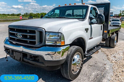 2004 Ford F550 Super Duty XL Used flatbed 1 owner landscape delivery work truck