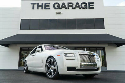 2014 Rolls-Royce Ghost 4dr Sedan '14 Rolls Royce Ghost,Matte White Wrap,593HP,DriverAssistance Pkg,Pano,Cameras