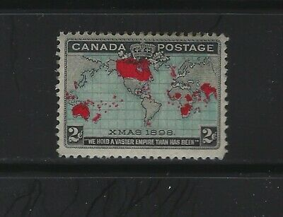 CANADA - #86 - 2c IMPERIAL PENNY POSTAGE XMAS MINT STAMP MLH