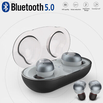 Portable with Charging Box Earbud Speaker Phone Headset Microphone Bluetooth